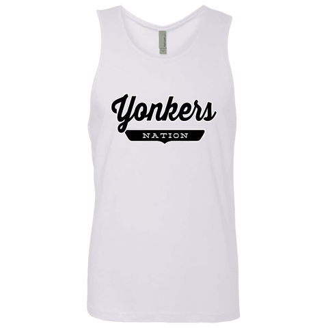 White / S Yonkers Nation Tank Top - The Nation Clothing
