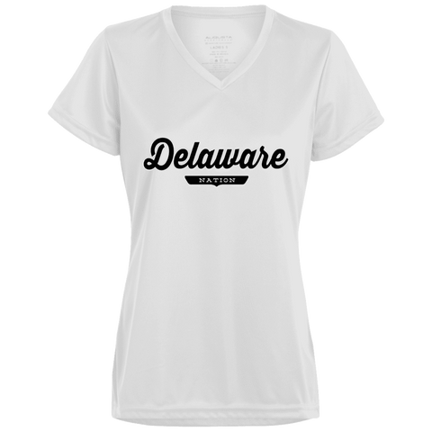 White / X-Small Delaware Nation Women's T-shirt - The Nation Clothing