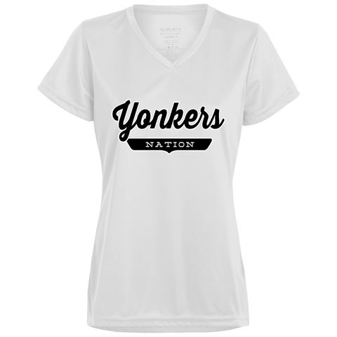 White / X-Small Yonkers Nation Women's T-shirt - The Nation Clothing