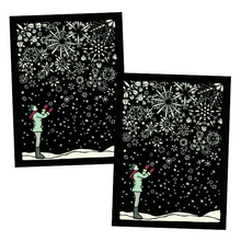 Load image into Gallery viewer, Greeting Card #38 First Flakes