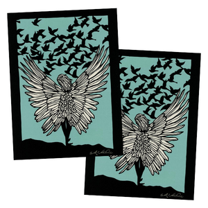 Greeting Card #52 If I Had Wings