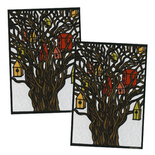 Load image into Gallery viewer, Greeting Card #8 Tree Houses