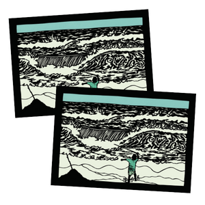 Greeting Card #87 Wave Tamer