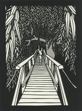 Load image into Gallery viewer, Something About Willow--paper cut artwork by Elizabeth VanDuine
