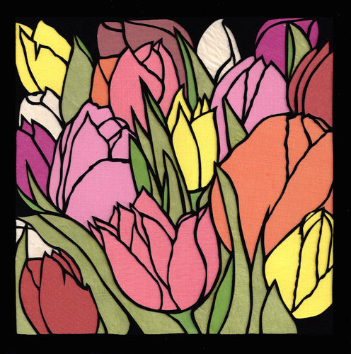 Greeting Card #35 Tulip Love