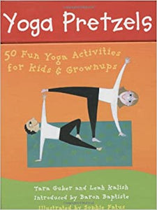 Yoga Pretzels Cards for Kids & Adults