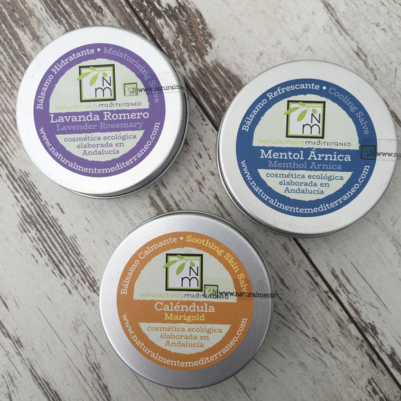 Organic Skin Salves - Soothing, Cooling or Moisturizing