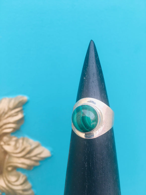 Ring Malachite