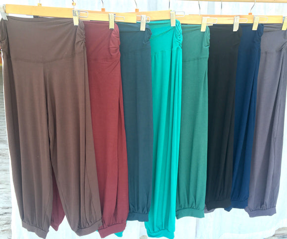 3/4 Length Cuff Yoga Trousers