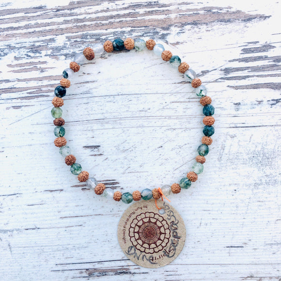 Heart of Protection Mala Bracelet