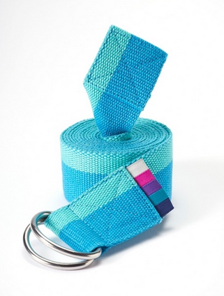 Stripey Yoga Strap