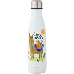 Thermal Water Bottle Live Happy