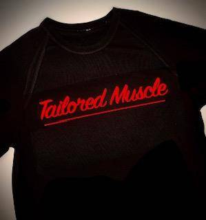 Tailored Muscle - Red (Dry Fit)