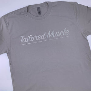 Tailored Muscle - Glitter Silver