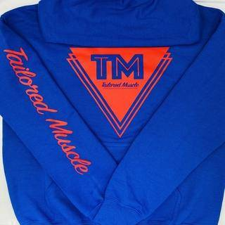 Image of Blue cotton hoodie