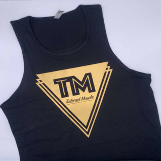 Tailored Tank Top - Gold