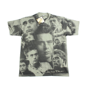 Vintage 1997 James Dean All-Over Print Shirt