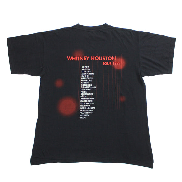 Vintage 1999 Whitney Houston World Tour Shirt - XL