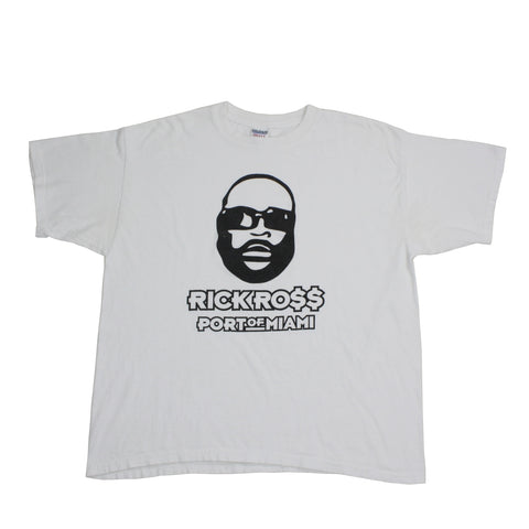 "Vintage 2006 Rick Ross ""Port Of Miami"" Album Promo Shirt - XL"