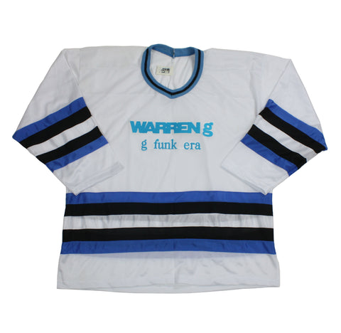 "Vintage Warren G ""G Funk Era"" Hockey Jersey"