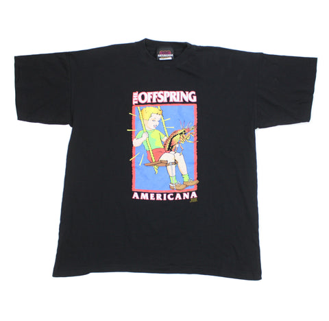 "Vintage 1998 The Offspring ""Americana"" Shirt - XL"