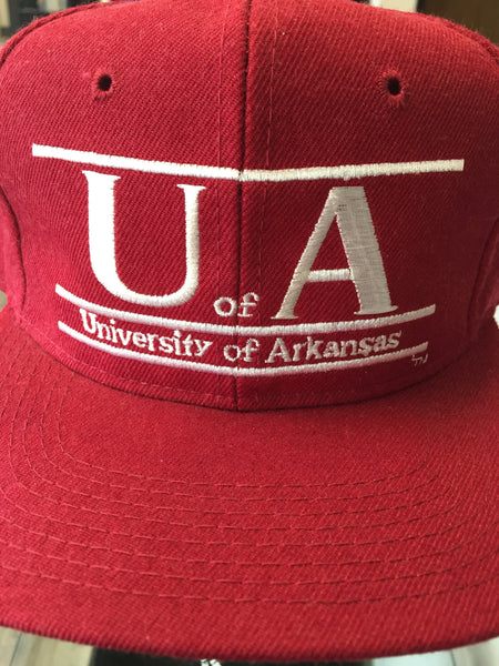 Vintage University of Arkansas Snapback Hat