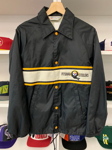 Vintage 80s Pittsburgh Steelers Jacket - M