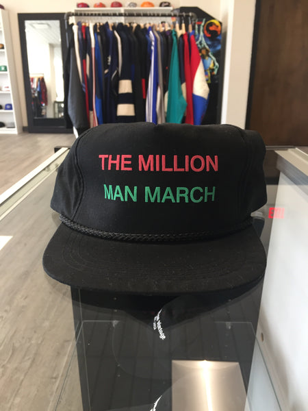 Vintage 90's Million Man March Snapback Hat