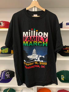 Vintage 2000 Million Family March Shirt - XL