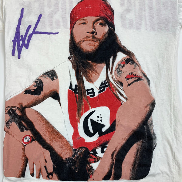 "Vintage 1990's Guns N' Roses ""Axl Rose"" Shirt XL"