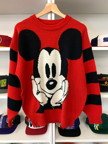 Vintage Mickey Mouse Sweater - S