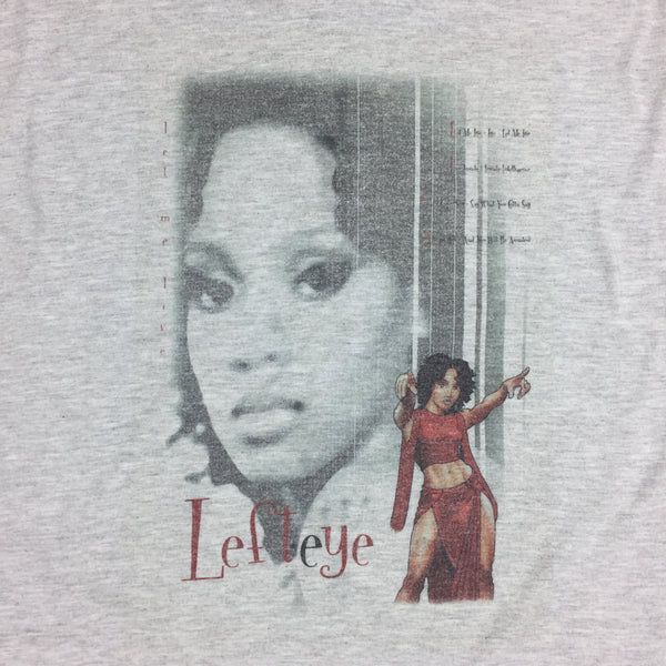"Vintage 2001 Lisa ""Left Eye"" Lopes Promo Shirt - XL"
