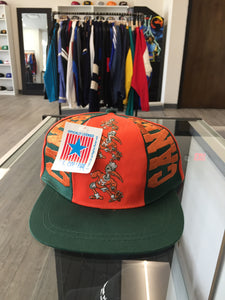 Vintage University of Miami Hurricanes Snapback Hat