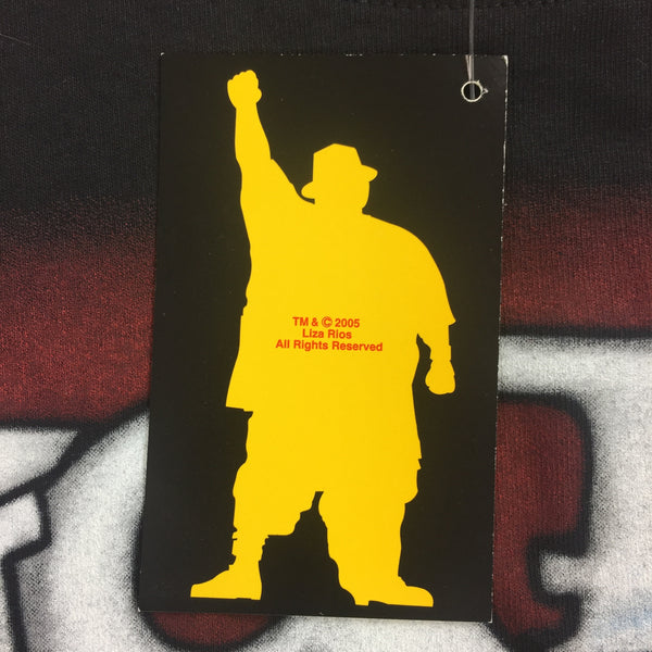 Vintage 2005 Big Pun Airbrushed Shirt - 2XL