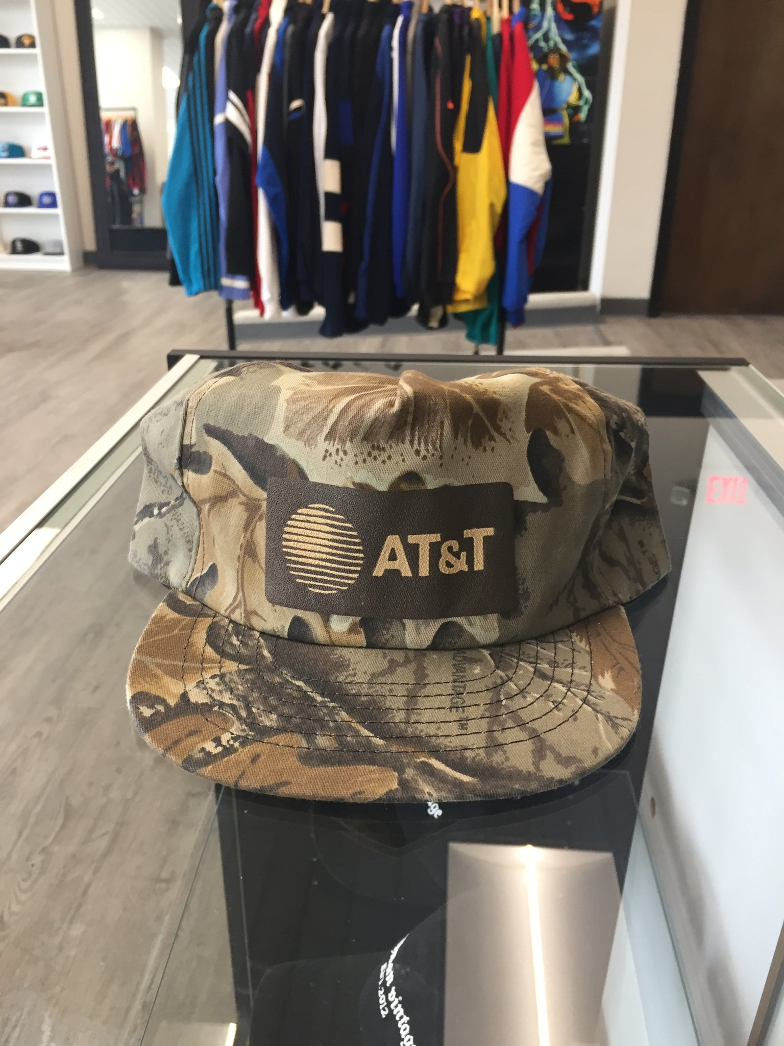 Vintage AT&T Camo Hat