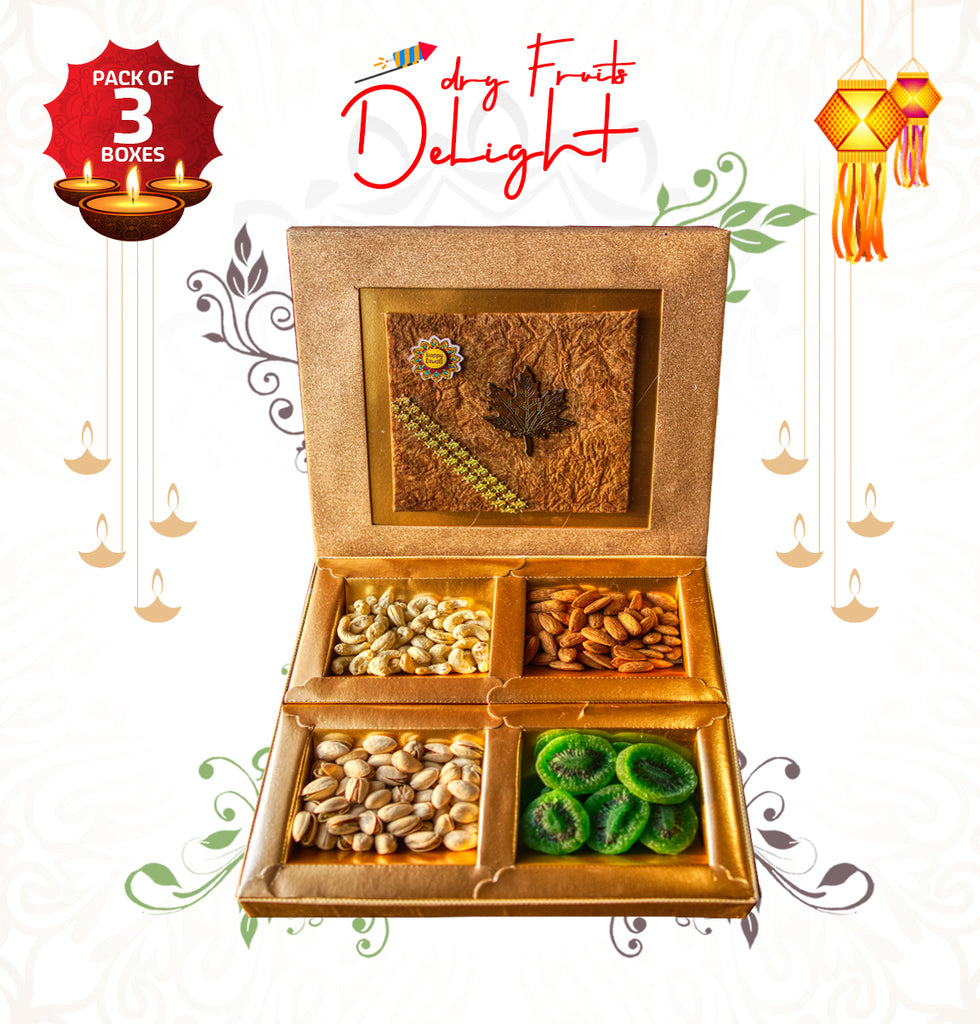 2000 WALA - Dry Fruits Delight (Pack of 3)