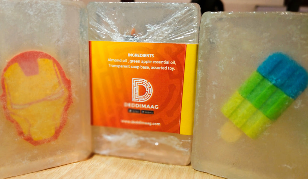 AmmoBomma kids soap