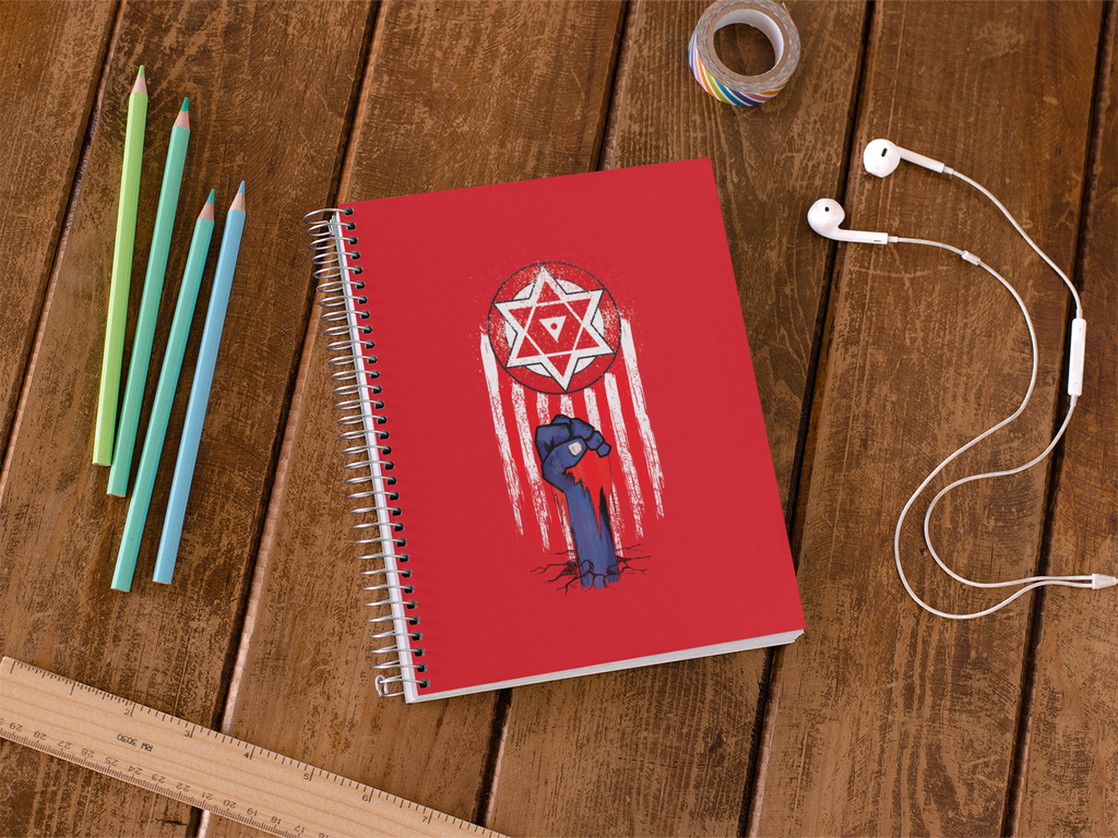 Janasena Themed Notebook