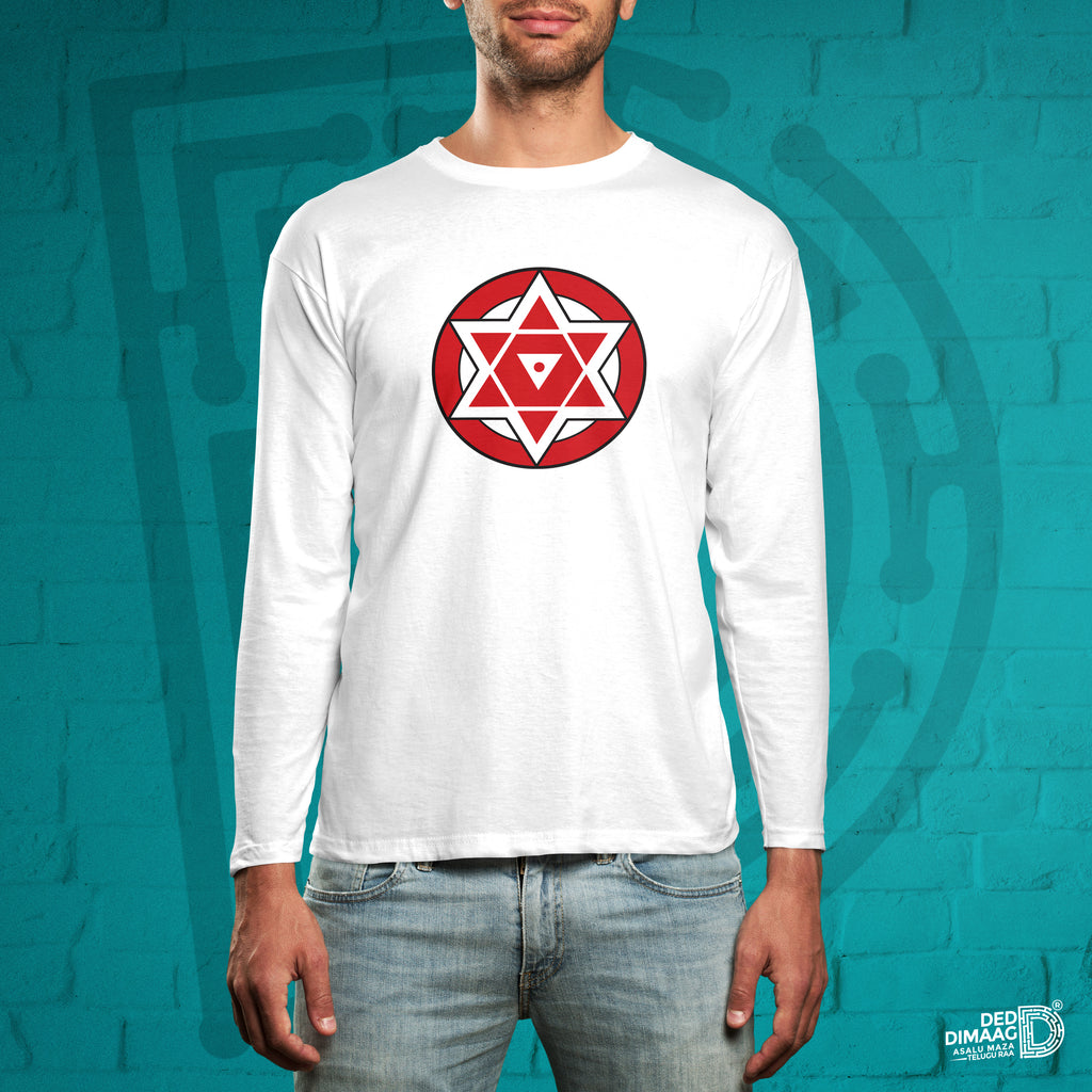 Janasena Logo Full Sleeve