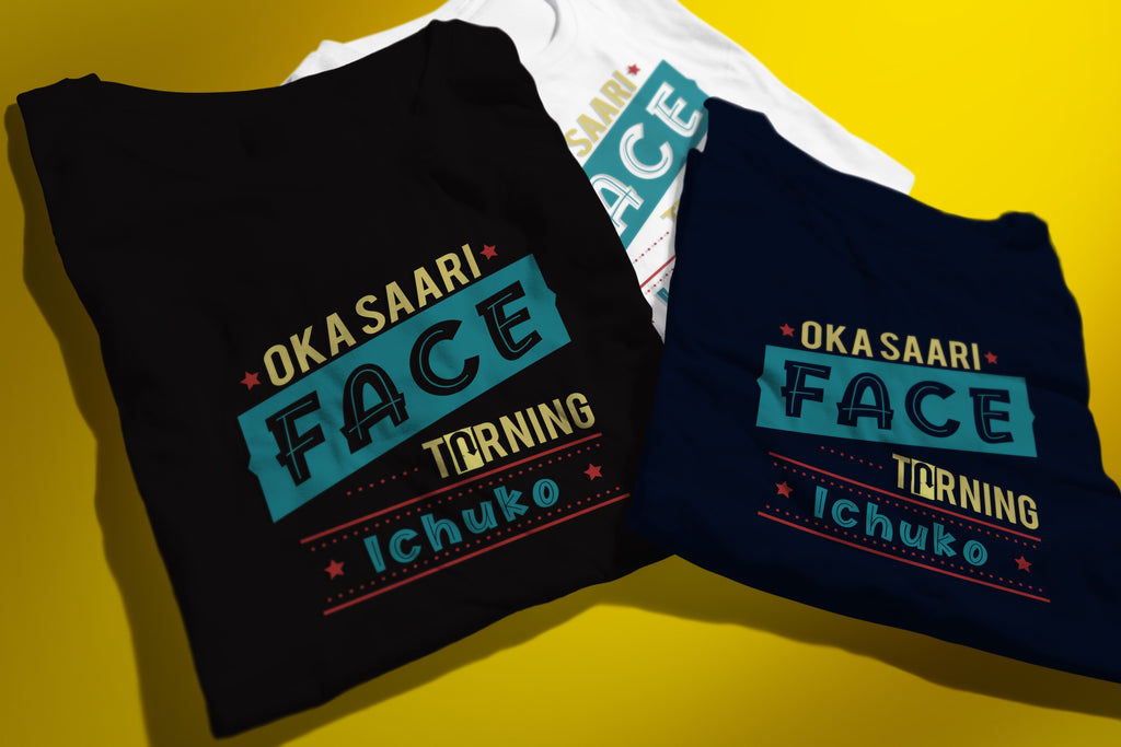 Okasari Face Turning Ichuko T-shirt