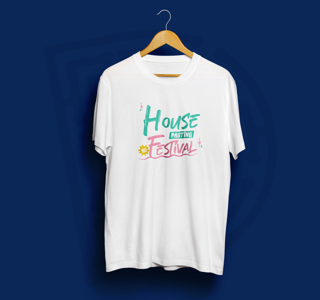 House Pasting No Festival T-shirt
