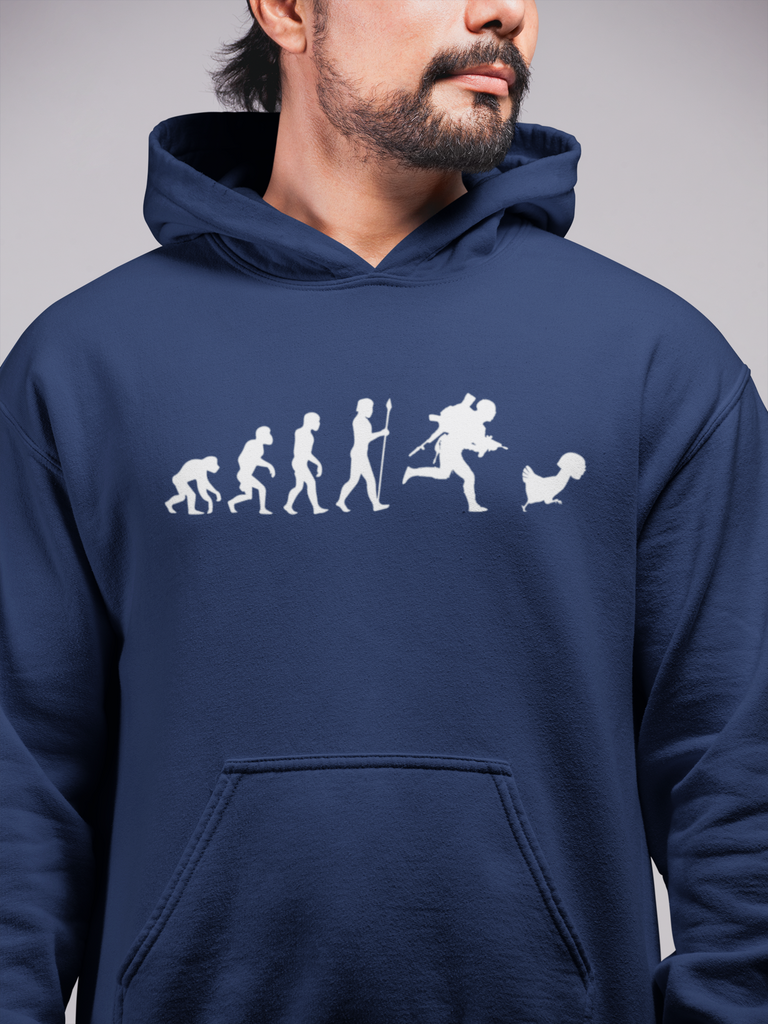 Evolution of chicken Dinner Hoodie - PubG