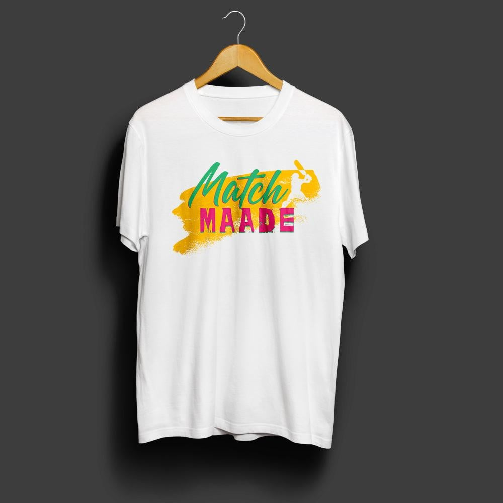 Match Maade -cricket special Tee