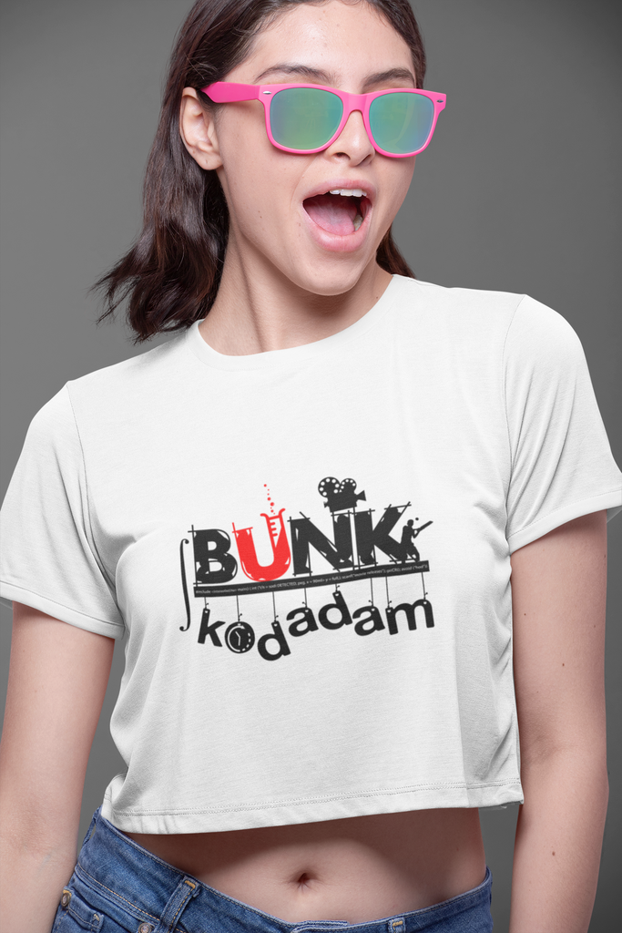 Bunk kodadam crop top