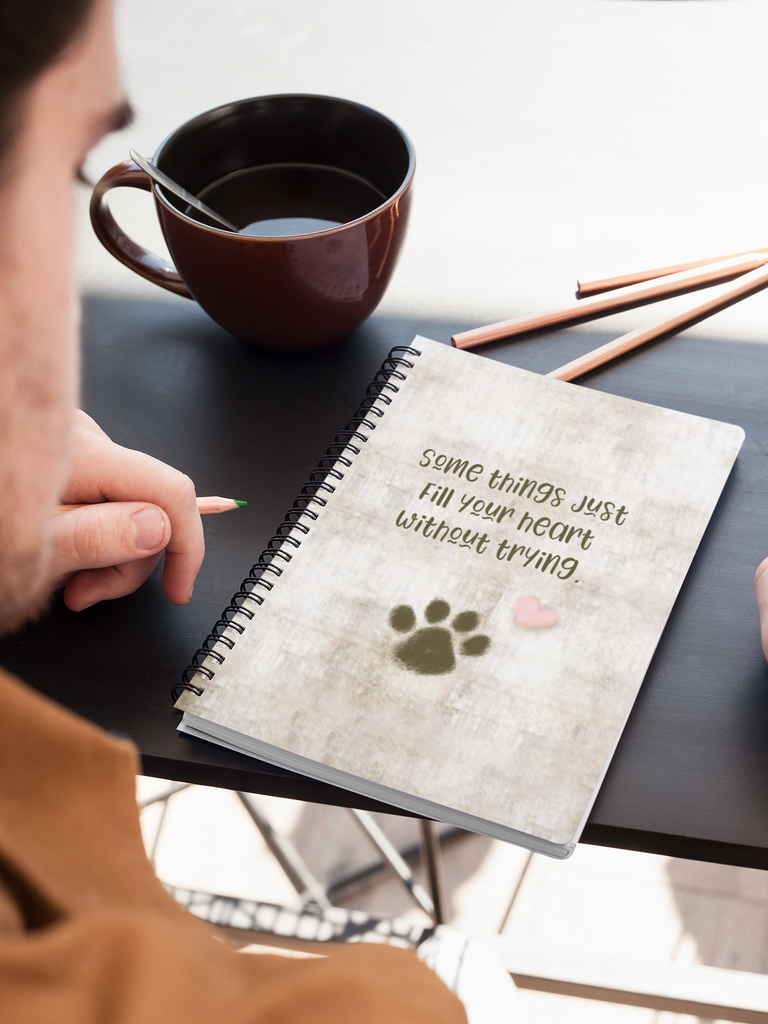 CUTE PAW NOTEBOOK