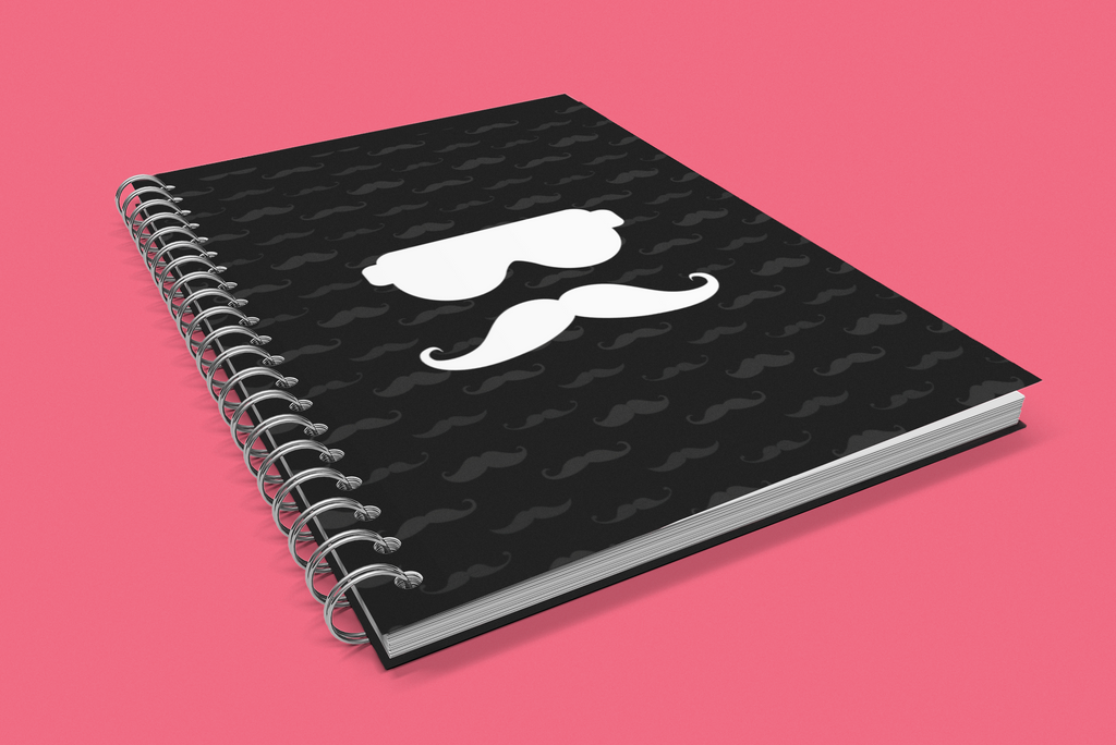Bro Chill Note Book Black Variant