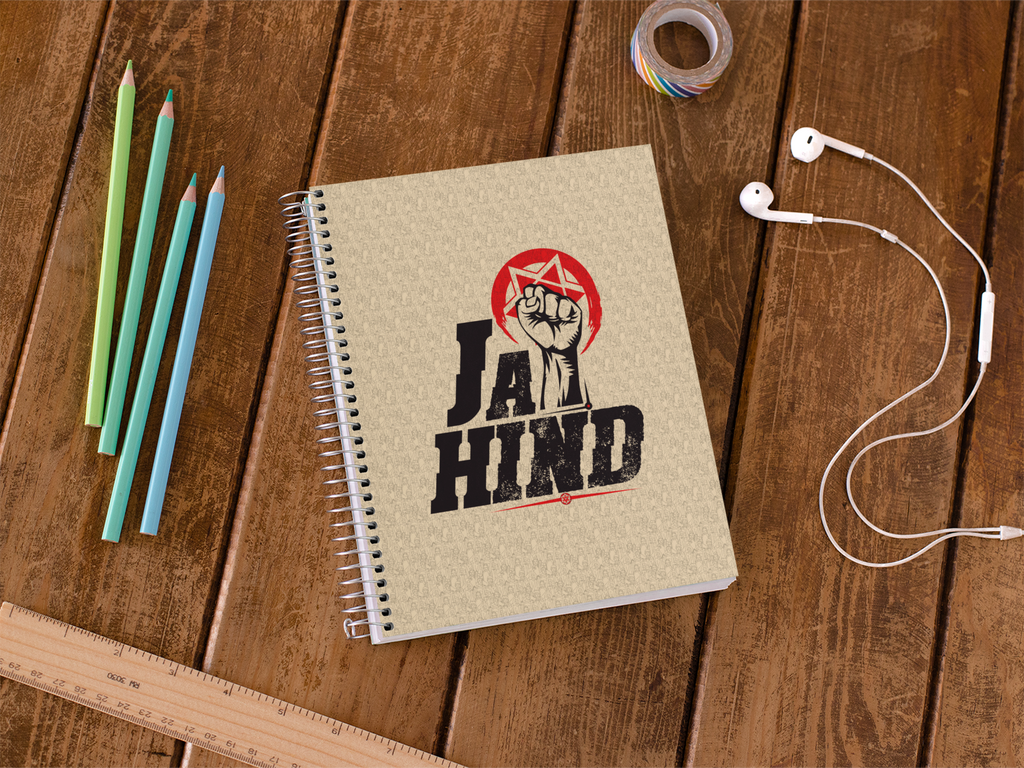 Jai Hind Notebook