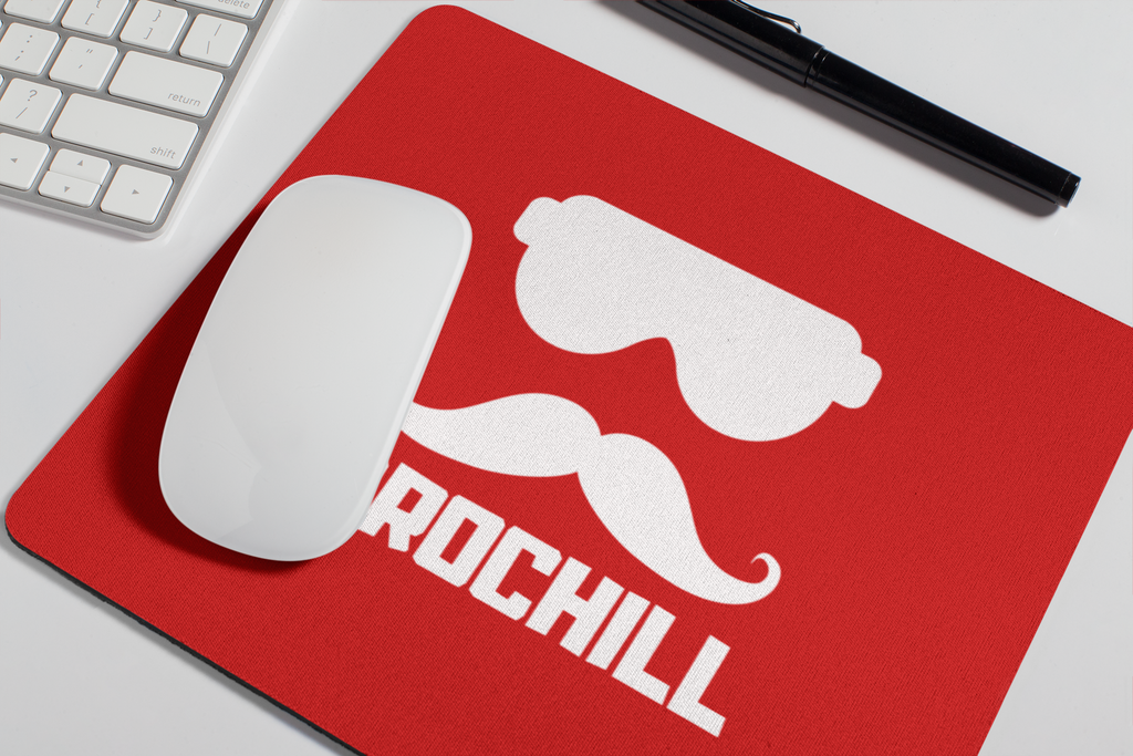 Bro Chill Mouse Pad  - Red