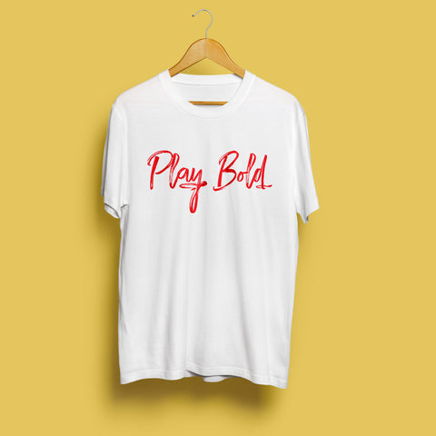 PLAY BOLD -Cricket special Tee
