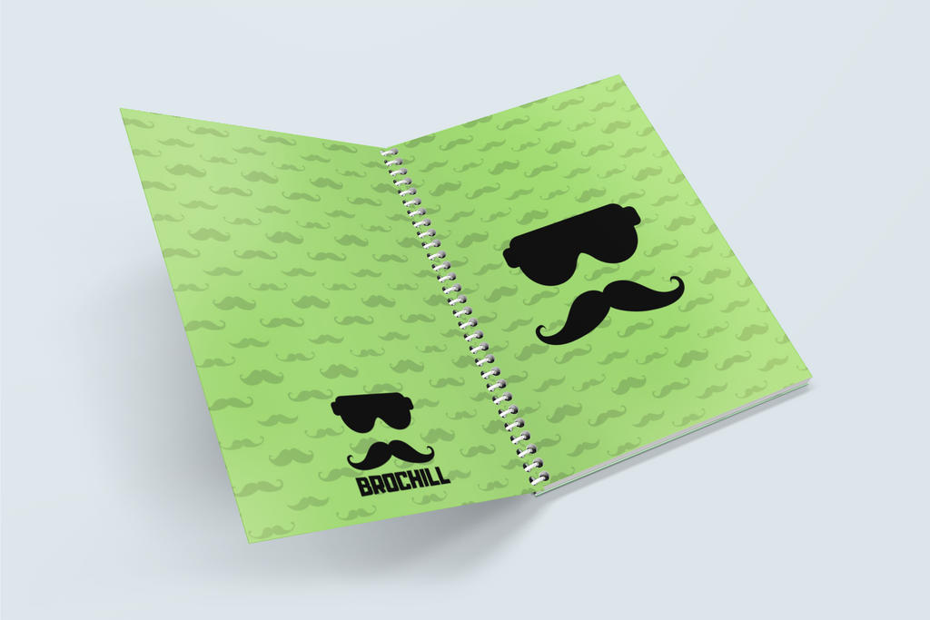 Brochill Note Book - Green